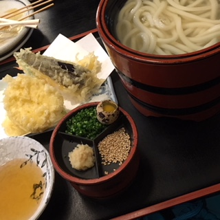 天ぷら釜上げ