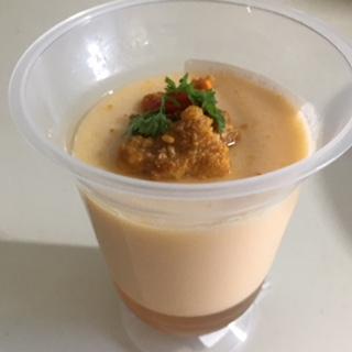 ウニのなめらか風味 食べるスープ